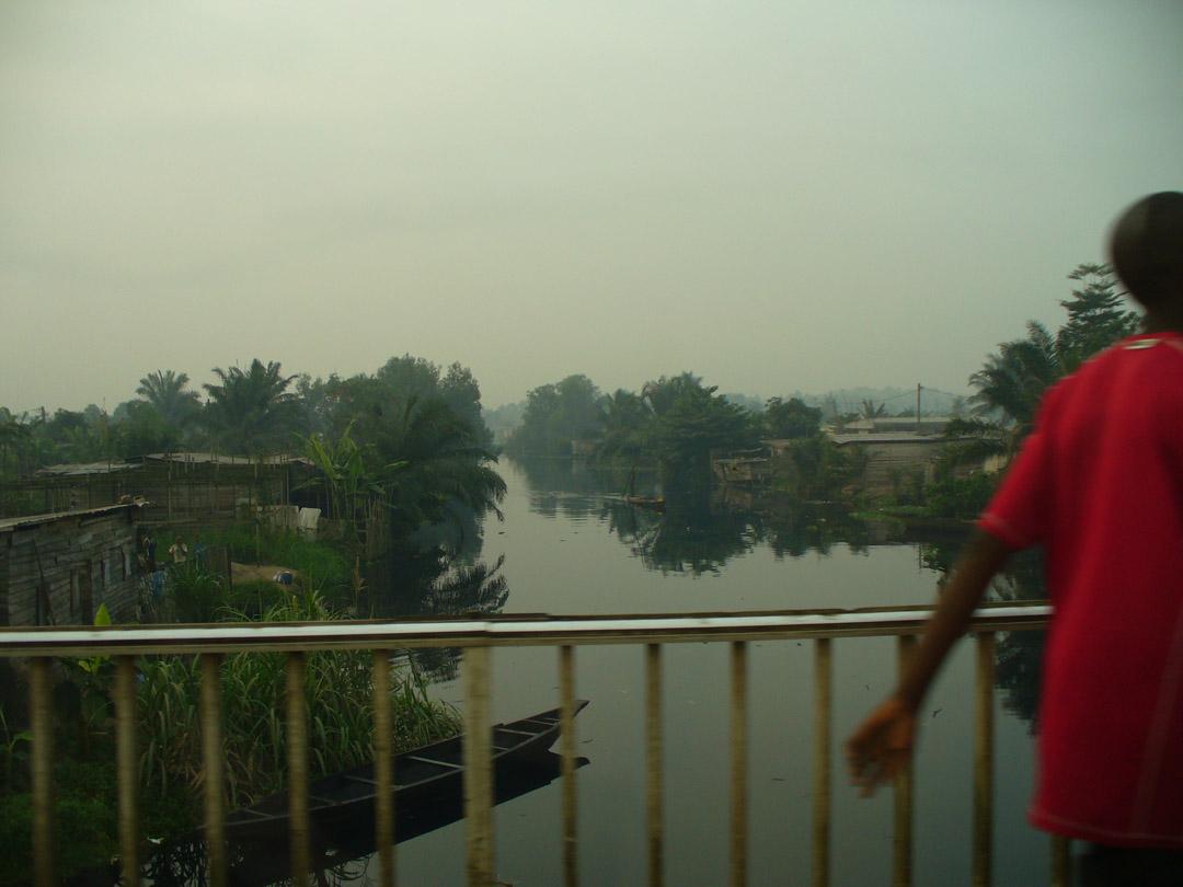 Cameroon river scene