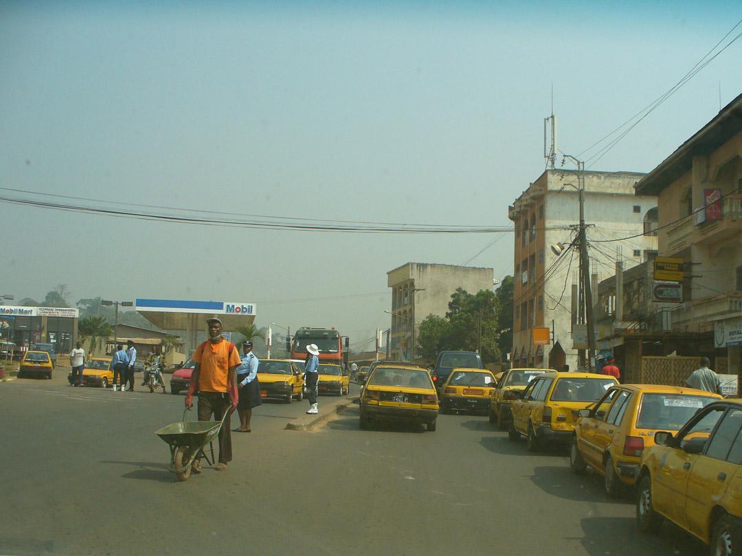 Douala Cameroon street scene