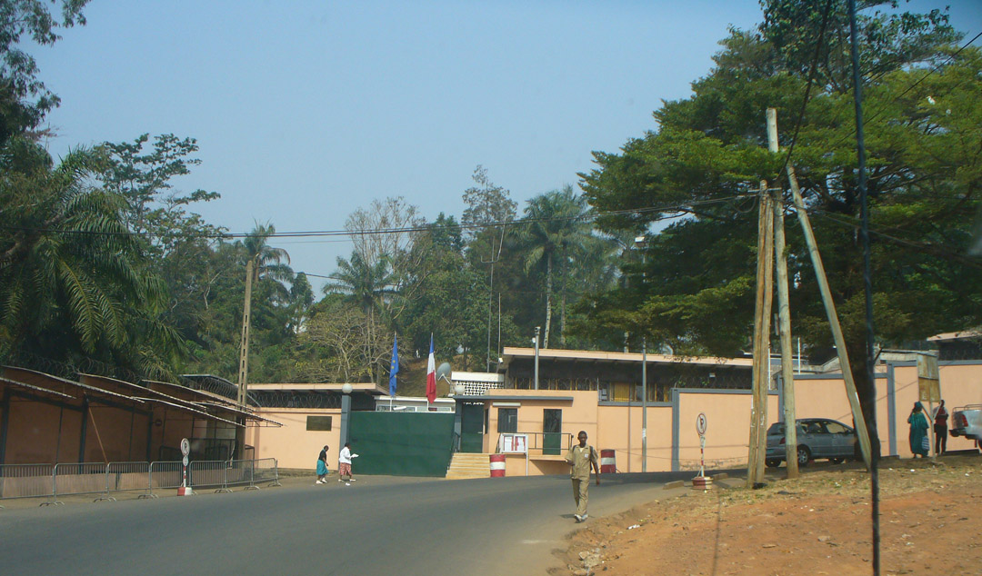 French embassy Yaounde Cameroon