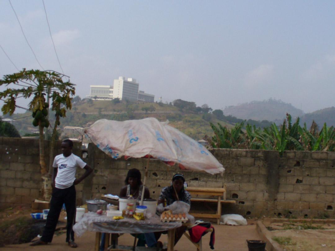 Cameroon parliament I think