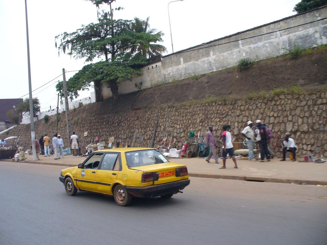 Yaounde Cameroon street scene