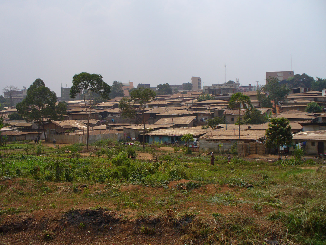 Yaoundé Cameroon street scene