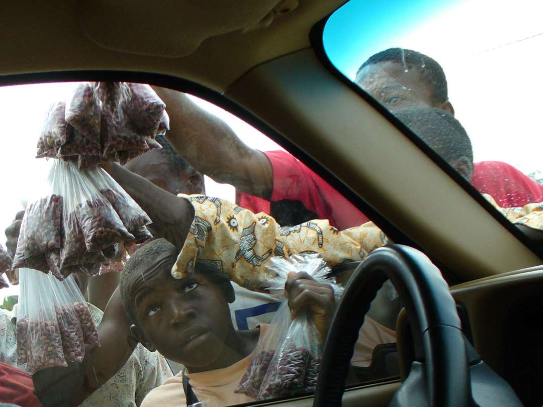 Cameroon street vendors