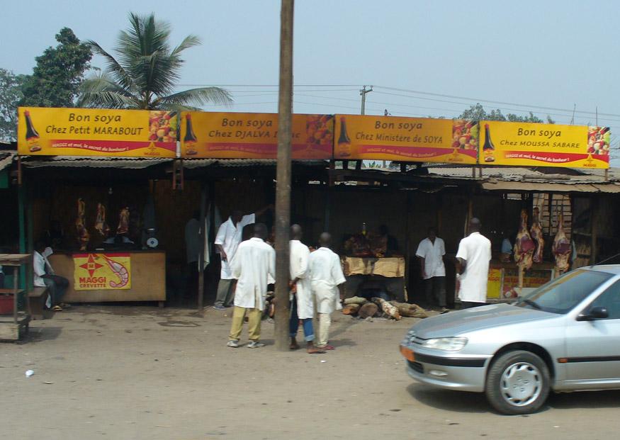 Meat market Cameroon