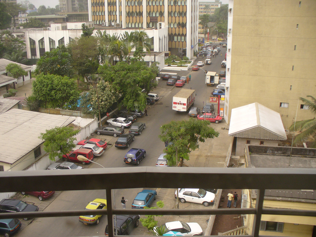 View of Douala Cameroon