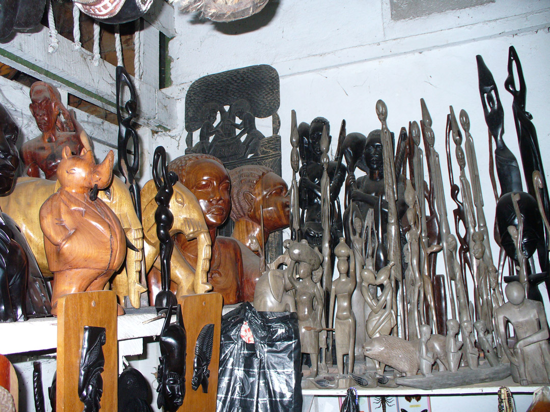 African carvings from Cameroon