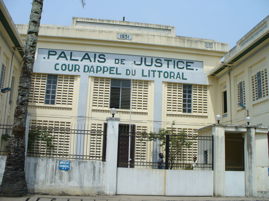 Douala Littoral provincial courthouse
