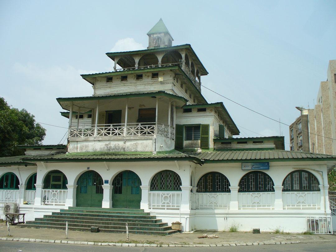 Douala pagoda style bldg