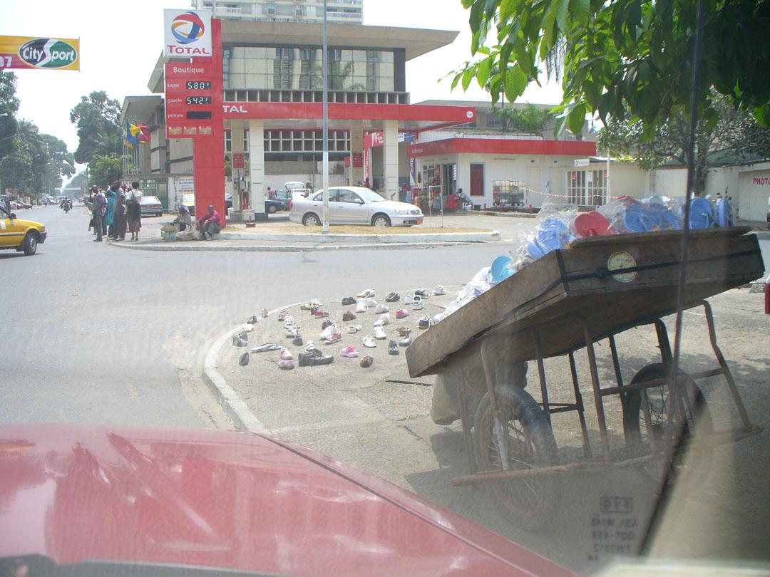 Douala African shoe store