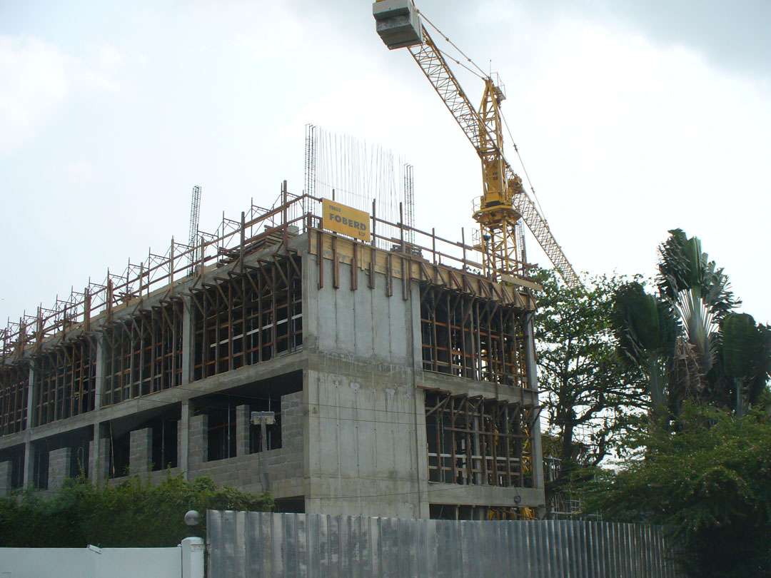 Douala, Cameroon building for the future