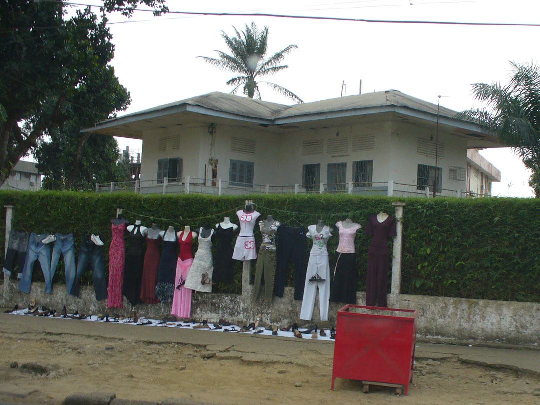 Douala African clothing shop