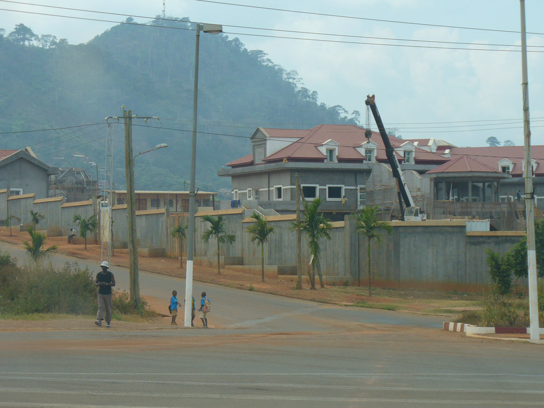 Mrs Biya mansion