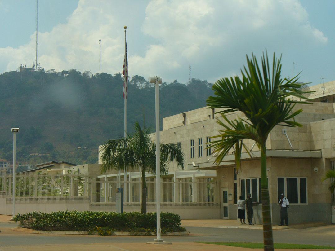 USA Embassy Yaoundé Cameroon