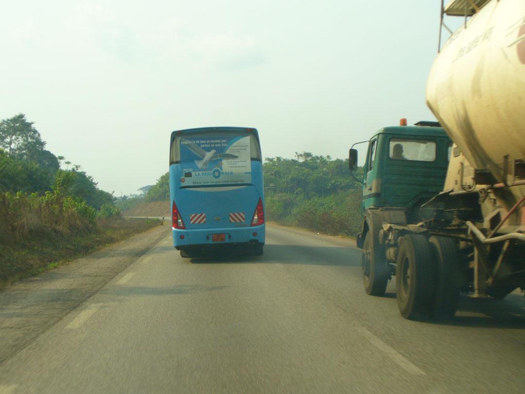 African intercity bus
