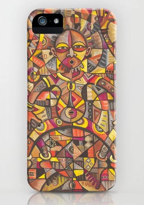 African Dancers iPhone case