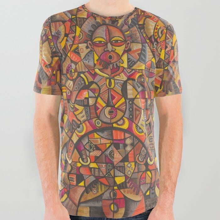 African Dancers all over tshirt