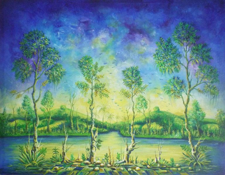 African Landscape III