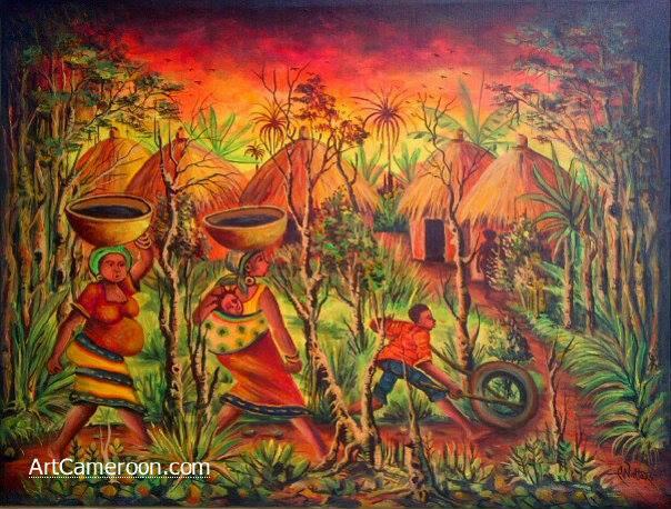 African Village II
