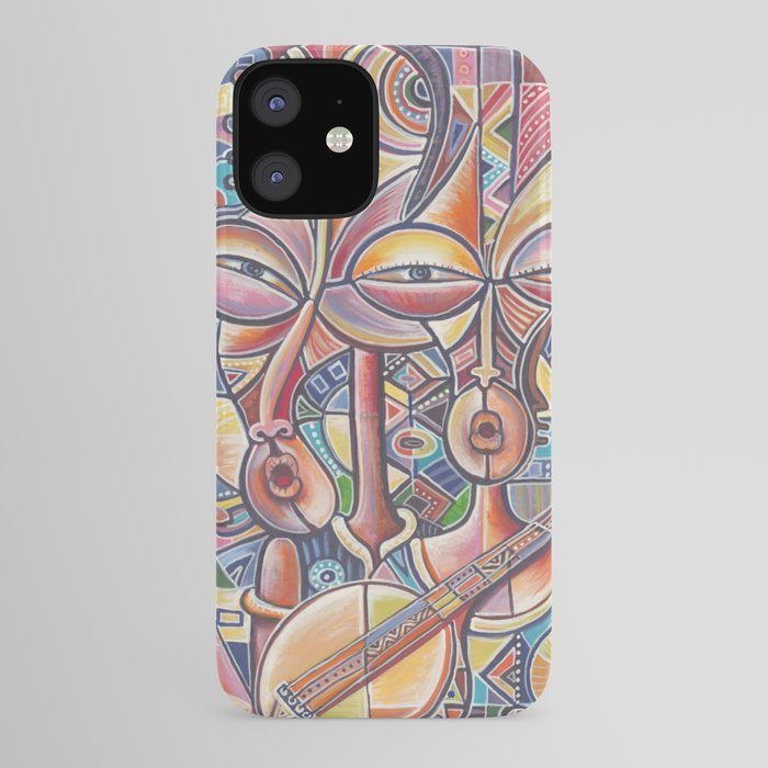 Banjo Players 2 iPhone case