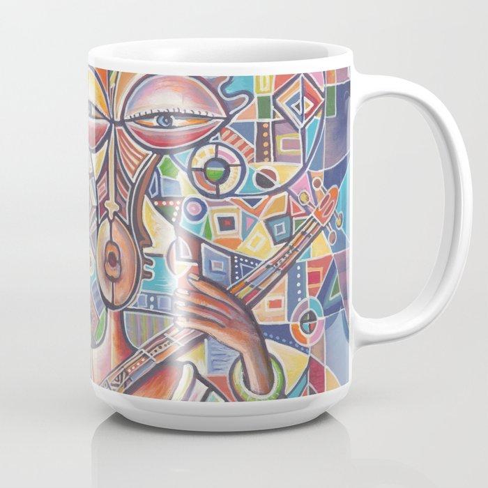 Banjo Players 2 Coffee mug