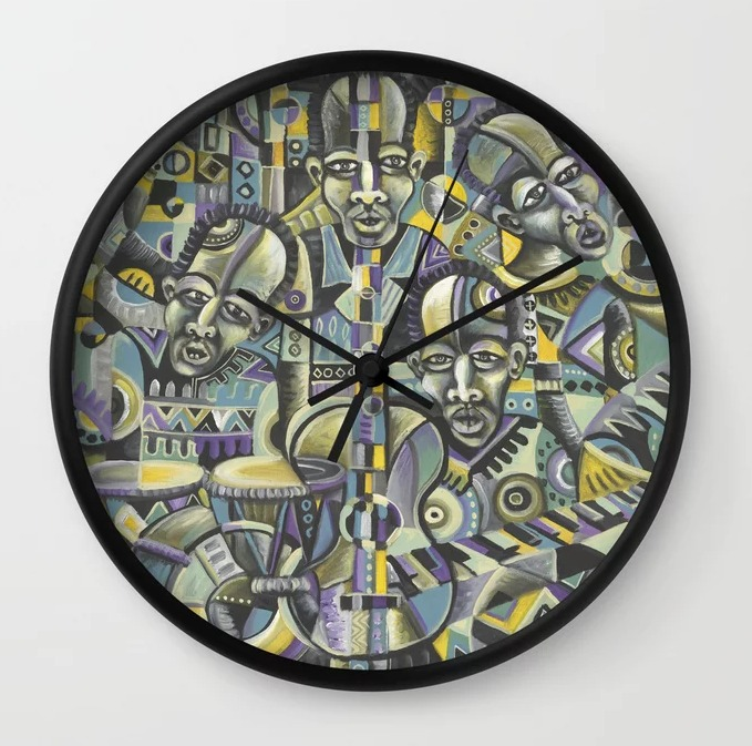 The Blues Band 1 clock