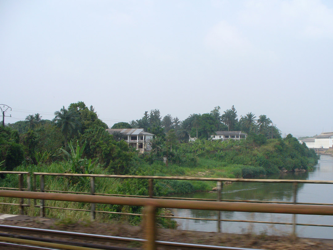 Cameroon river view