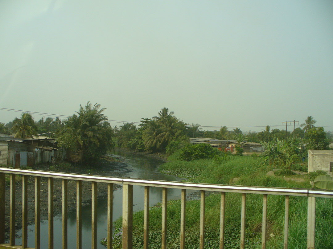 Cameroon highway scene