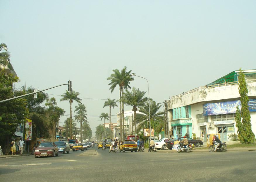 Cameroon street scene