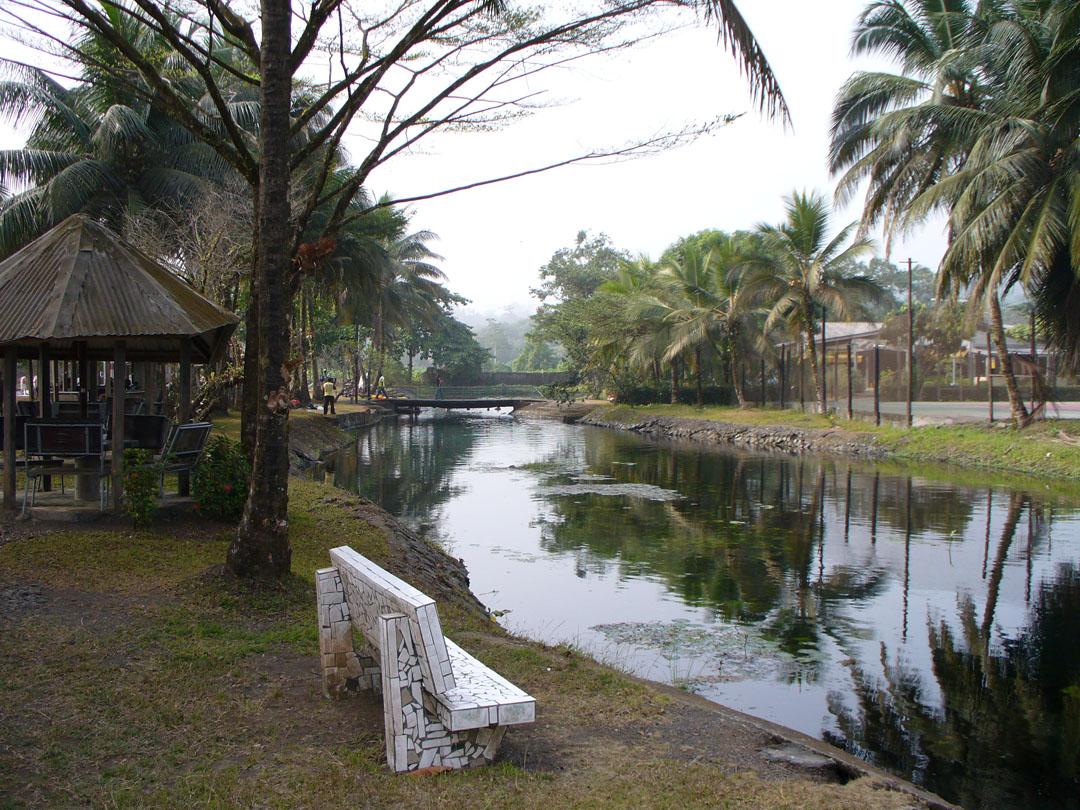 Cameroon lagoon