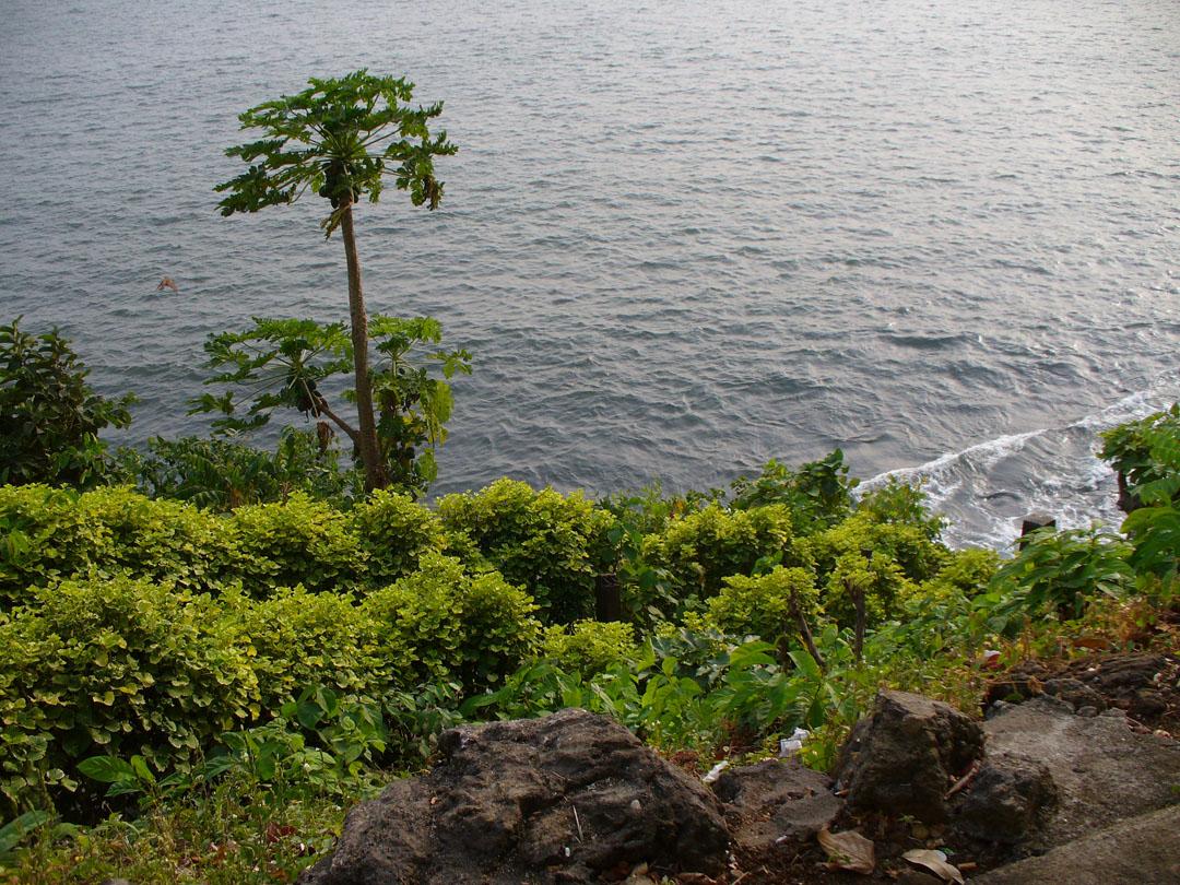 Cameroon cliffside café