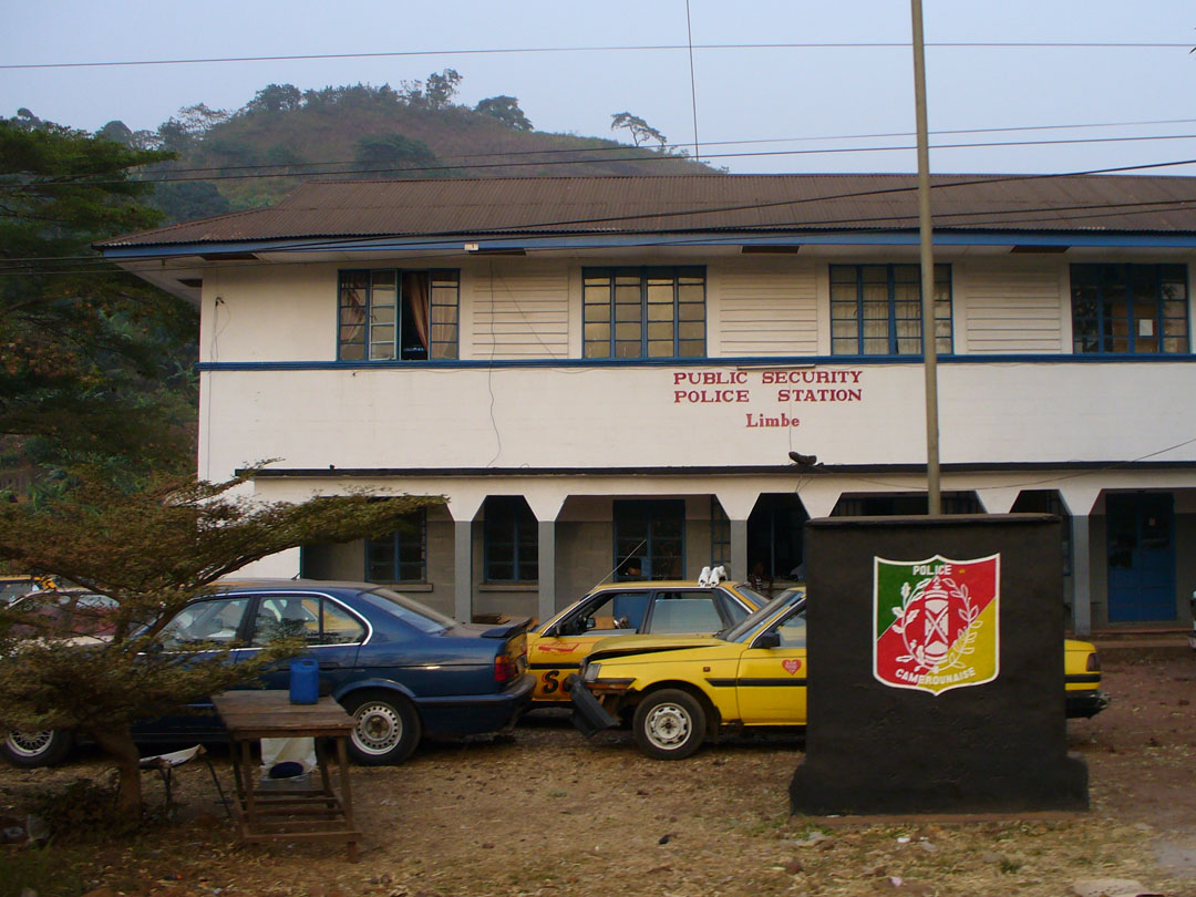 Cameroon police station