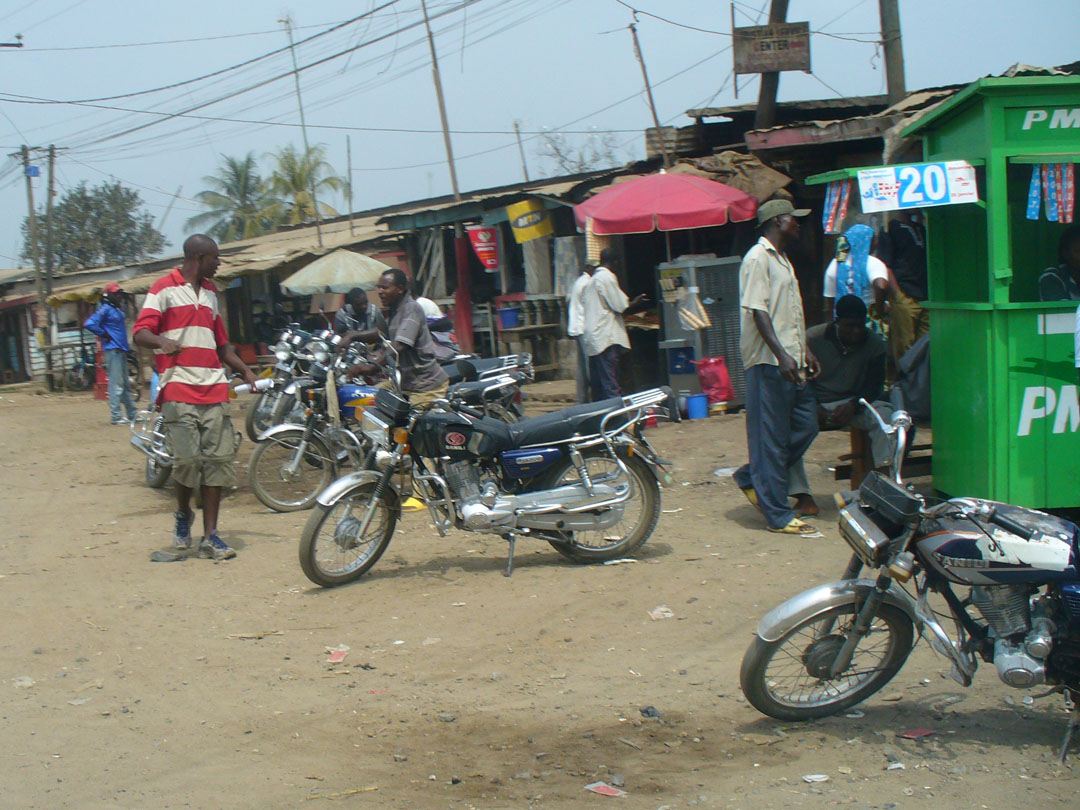 Cameroon motorcycles