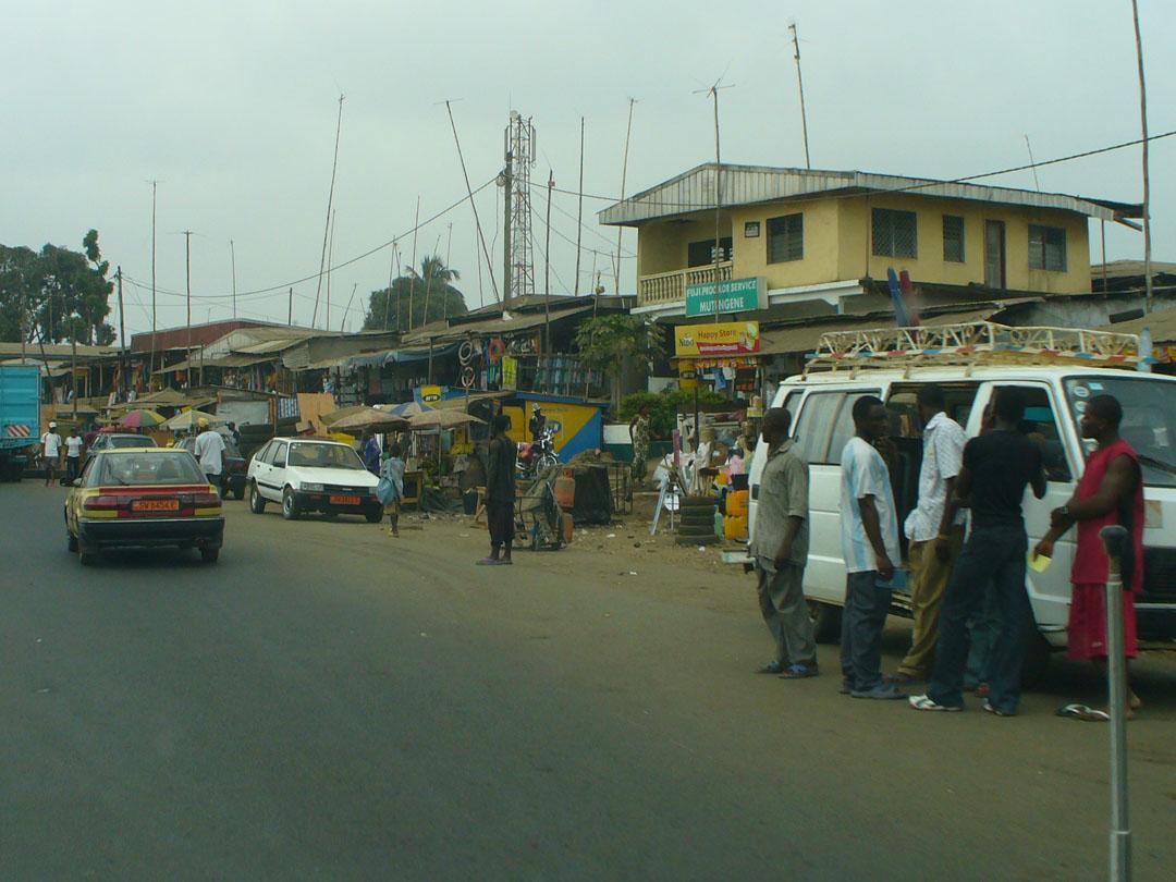 Cameroon roadside