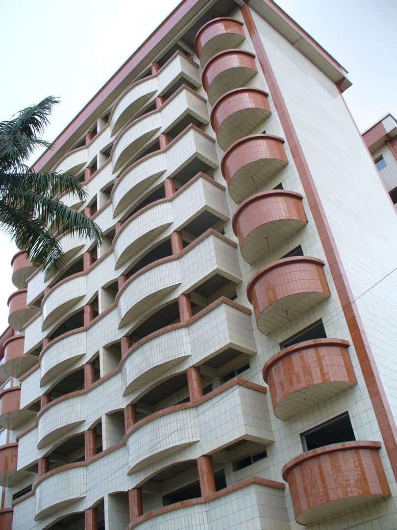Douala, Cameroon apt bldg