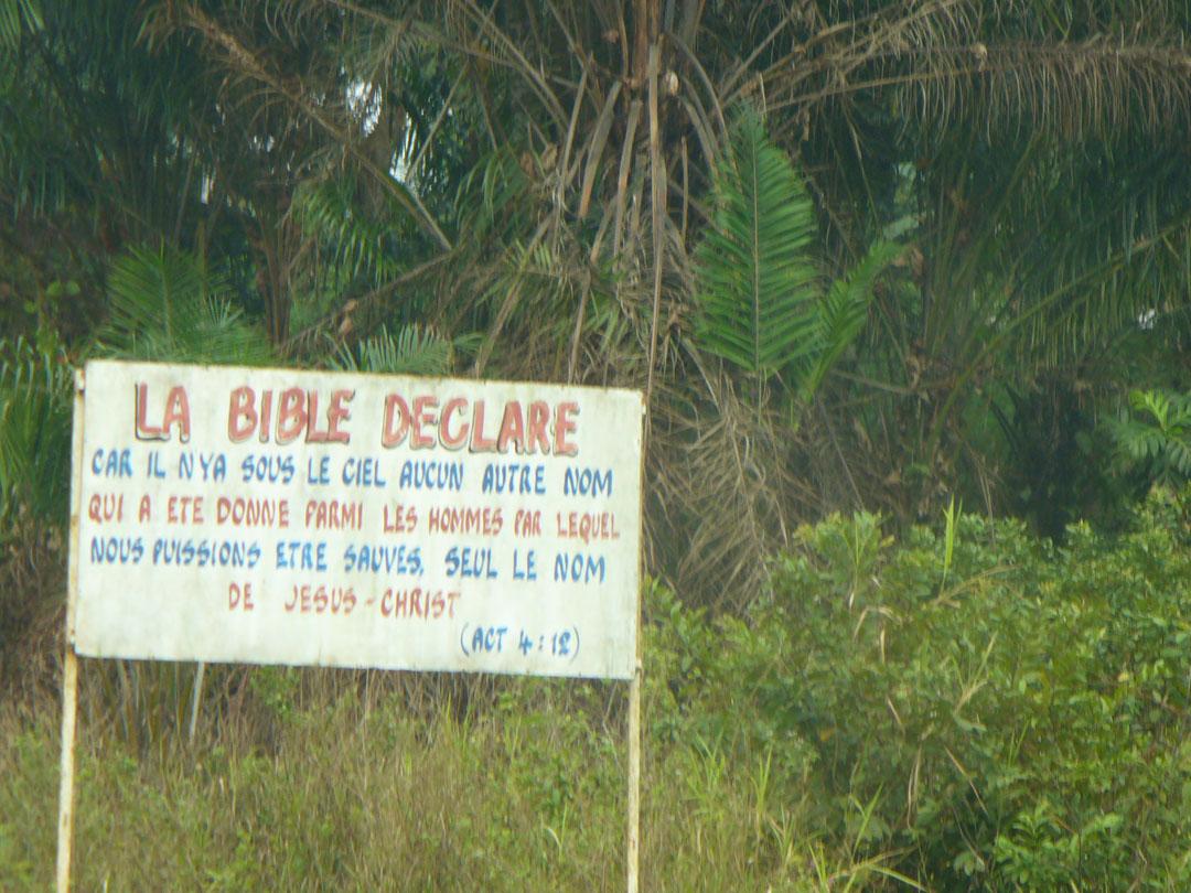 Christians advertising god