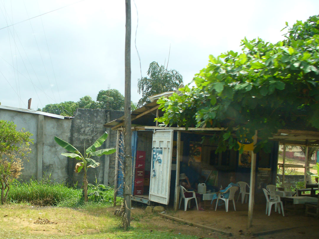 Sit in the shade and enjoy peaceful Karibe, Cameroon