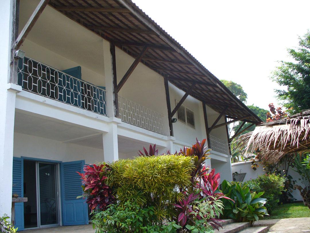 Cameroon weekend getaway beach house