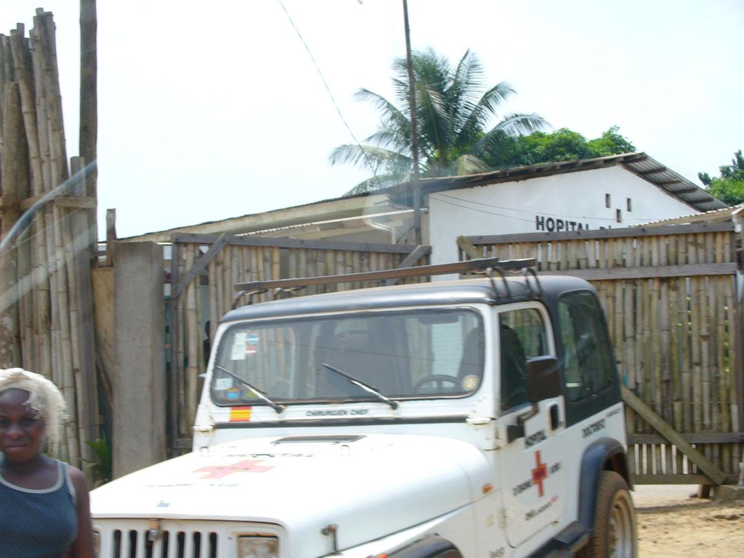 Medical clinic and ambulance
