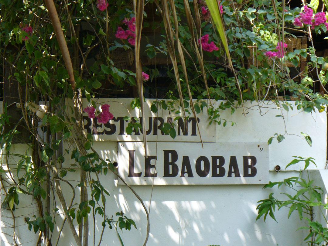 Le Baobab restaurant in Karibe Cameroon