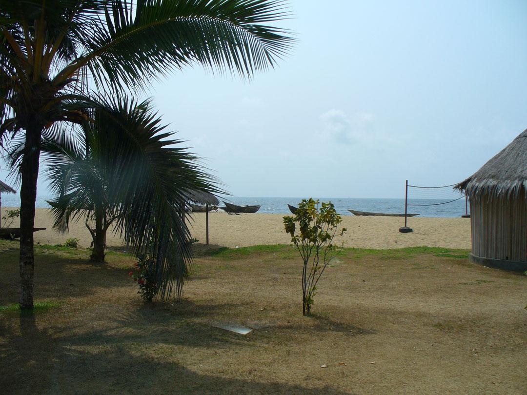 on the beach at Karib, Cameroon