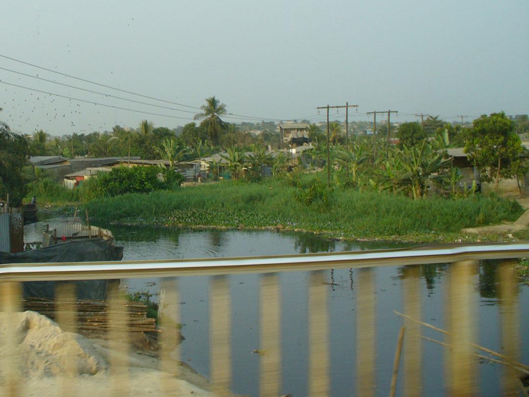 Douala, Cameroon river