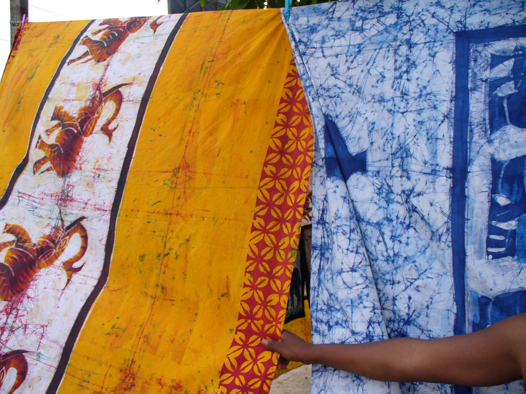 Painted cloth so beautiful