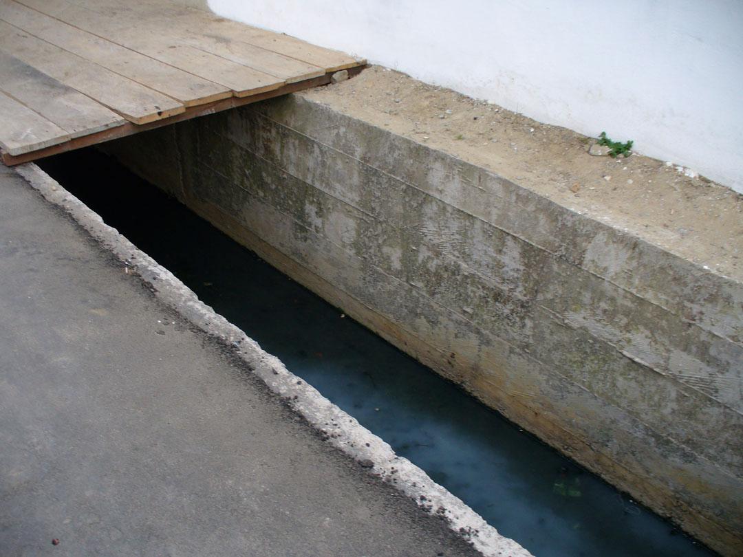 Street drainage for Rainy Season