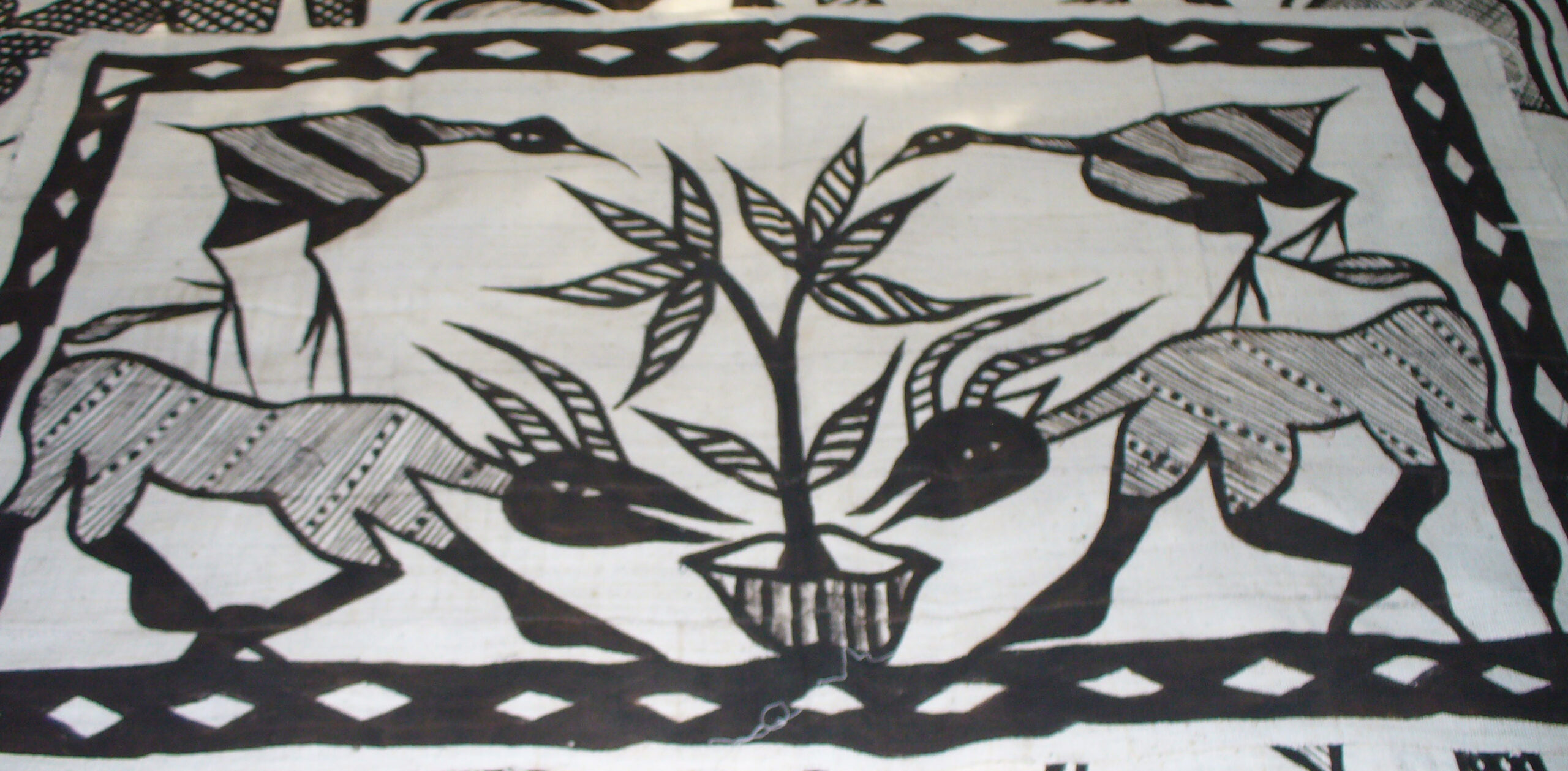 Decorative African wall hanging