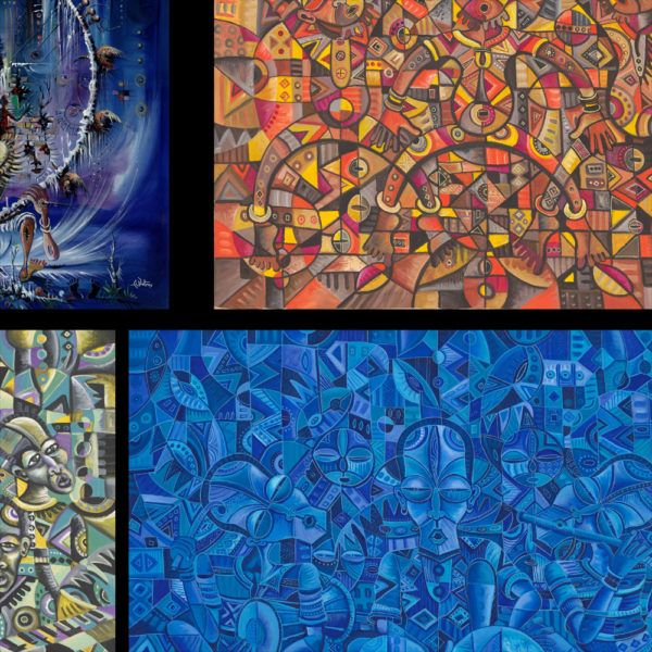 African art prints collage 1b