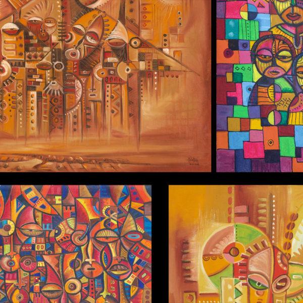 African art prints collage 2b