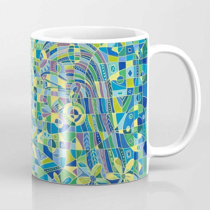 Dialogue 4 coffee mug
