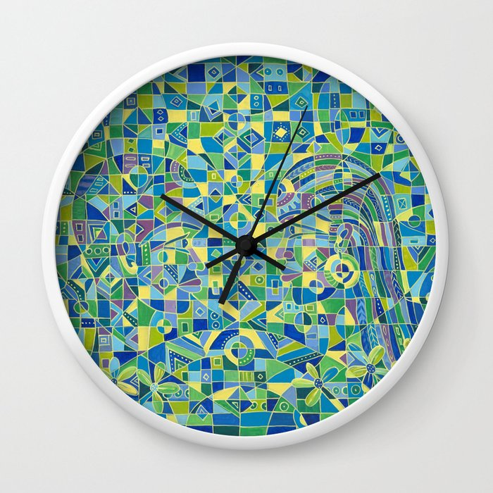 Dialogue 4 wall clock