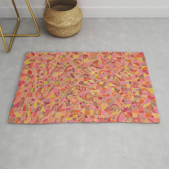 dialogue 5 marriage painting rug