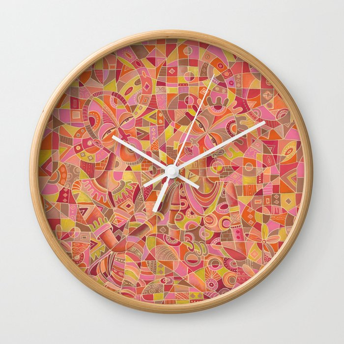 dialogue 5 marriage painting clock